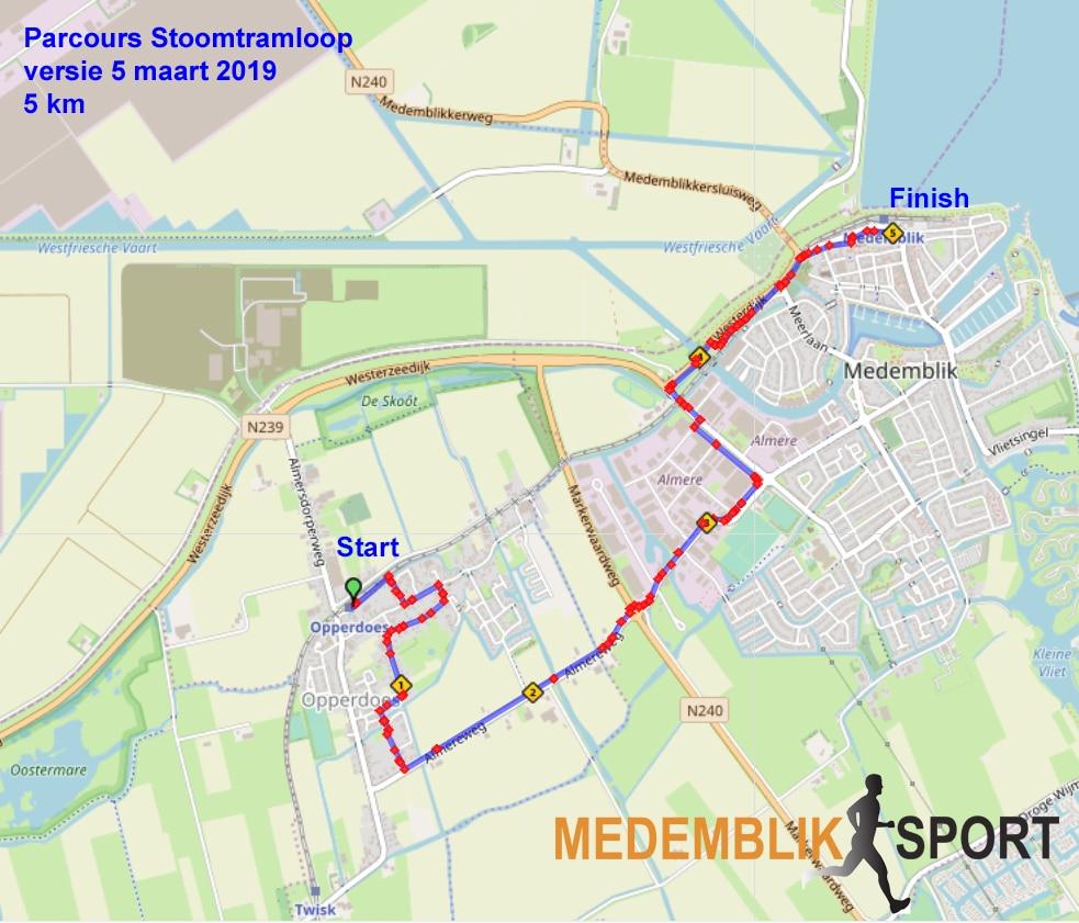 Route 5km