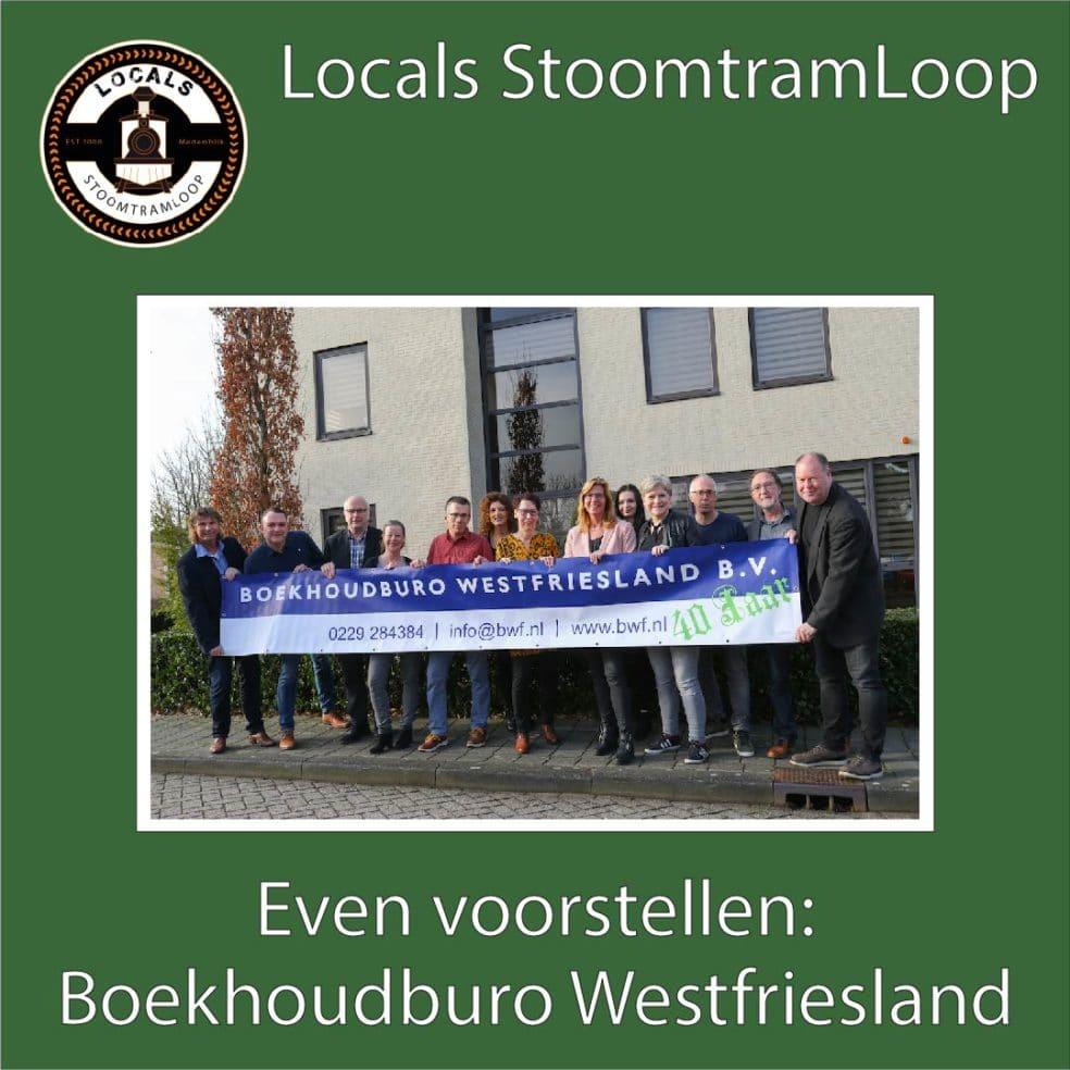 Boekhoudburo Westfriesland – Opnieuw Hoofdsponsor Stoomtramloop