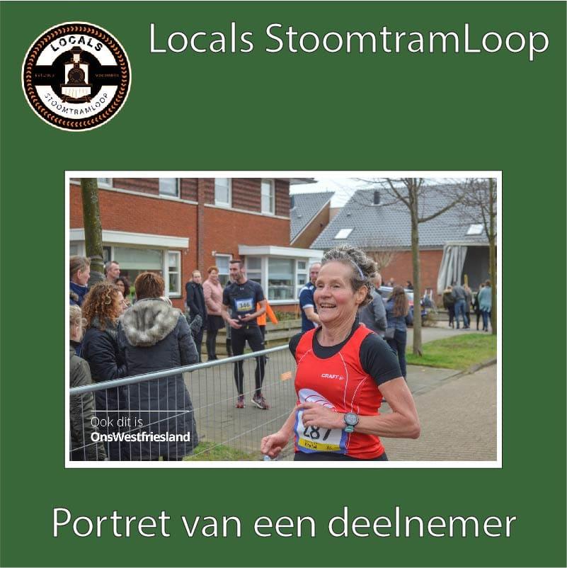 Deelnemer: Karin Voogt Stoomtramloop
