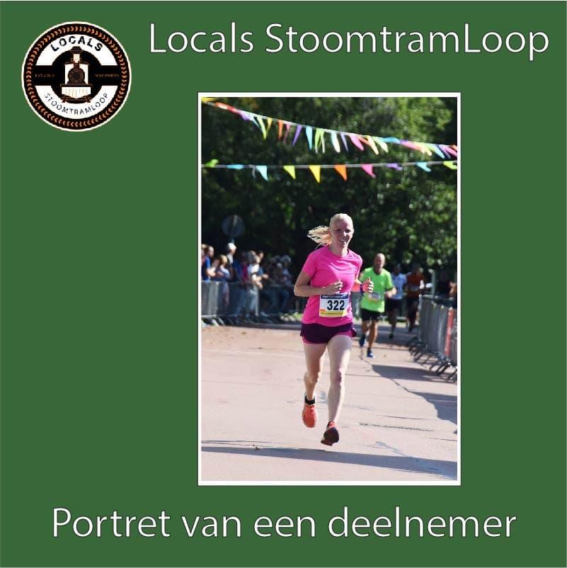 Deelnemer Moniek Spigt Stoomtramloop