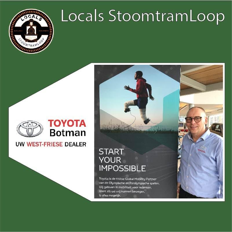 Hoofdsponsor Toyota Botman