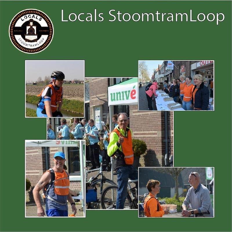 Locals Stoomtramloop Vrijwilligers