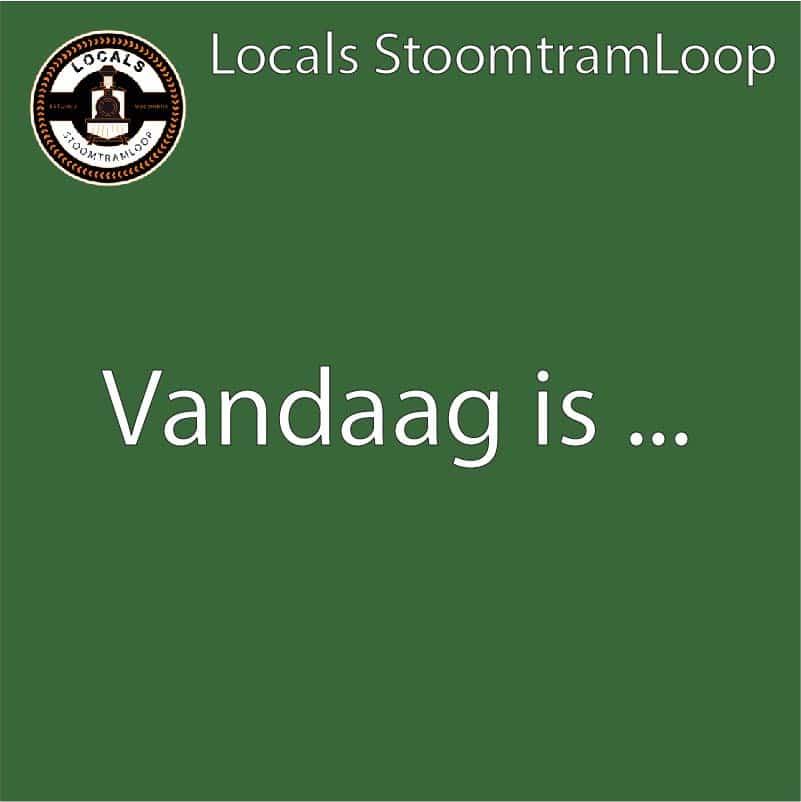 Vandaag Locals Stoomtramloop